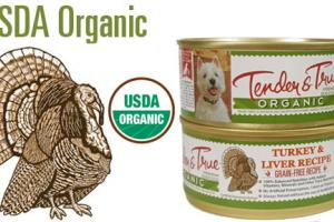 Organic Turkey and Liver Canned Dog Food