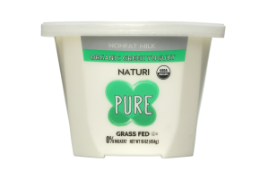 Pure Nonfat Milk Organic Greek Yogurt