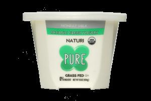 Pure Nonfat Milk Organic Greek Yogurt