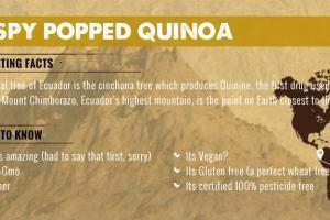 Crispy Popped Quinoa