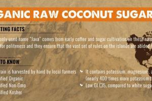Organic Raw Coconut Sugar