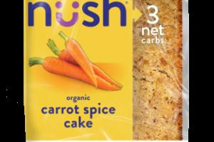 Organic Carrot Spice Cake