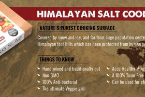 Himalayan Salt Cooking Slab