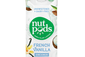 French Vanilla Unsweetened + Dairy-Free Creamer