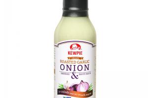 Roasted Garlic Onion Dressing & Saute Sauce