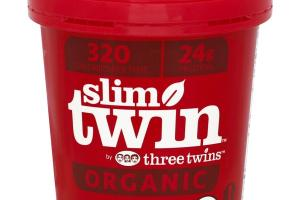 Slim Twin Cookies & Cream Organic Ice Cream