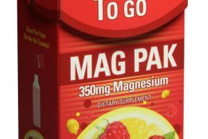 Mag Pak 350mg To Go