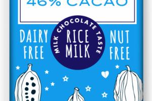 46% CACAO 1.1 OZ RICE MILK CHOCOLATE BAR