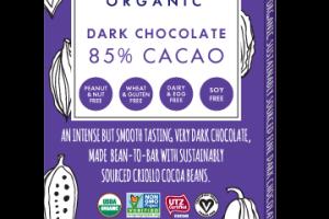 85% CACAO 3.5 OZ CHOCOLATE BAR