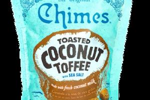 Toasted Coconut Hard Toffee With Sea Salt