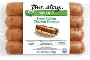 Sweet Italian Chicken Sausage