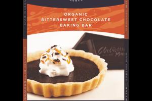 Organic Bittersweet Chocolate Baking Bar
