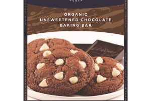 Organic Unsweetened Chocolate Baking Bar