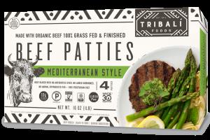 Beef Patties - Mediterranean Style Beef