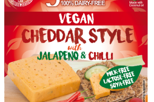 Cheddar Style With Jalapeno & Chilli
