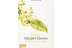 Zesty Ginger Green Organic Green Tea