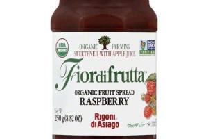 Fiordifrutta Organic Fruit Spread Raspberry