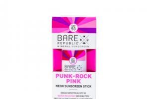 Punk-rock Pink Mineral Sunscreen Spf 50