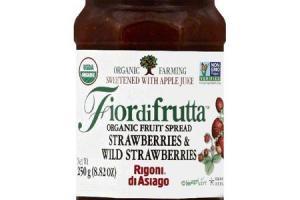 Fiordifrutta Organic Fruit Spread Strawberry