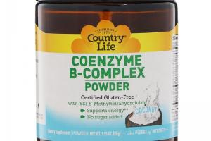 Coenzyme B-Complex Powder Coconut
