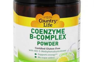 Coenzyme B-complex Powder - Lemon Lime