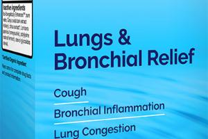 Homeopathic Lungs & Bronchial Relief Natural Medicine