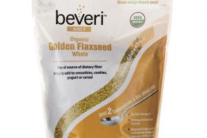 Organic Golden Flaxseed Whole