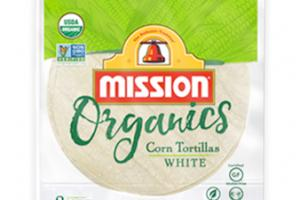 Organic Corn Tortillas White