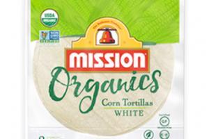 Organic Corn Tortillas White
