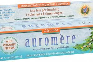 Ayurvedic Classic (Licorice) Toothpaste