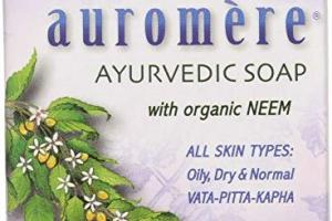 Ayurvedic Soap, Lavender-neem