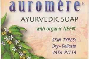 Ayurvedic Soap, Vanilla-neem