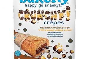 crunchy crêpes hazelnut chocolate filled