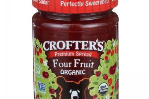 Four Fruit Organic Premium Spread
