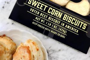 Sweet Corn Biscuits