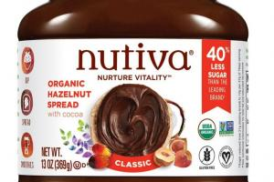 Organic Hazelnut Spread With Cocoa