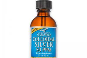 COLLOIDAL SILVER 50ppm