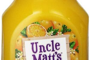 Organic Orange Juice Pulp Free