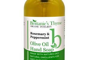 Olive Oil Hand Soap, Rosemary & Peppermint
