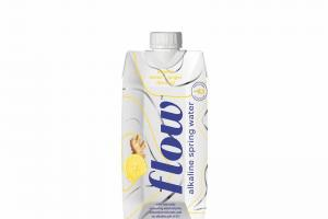 Organic Lemon-ginger Flavored Alkaline Spring Water