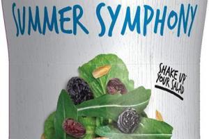 Salad Topper Summer Symphony
