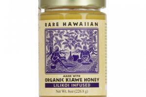 Organic Kiawe Honey with Lilikoi