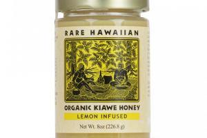 Organic Kiawe Honey with Lemon
