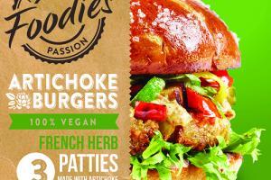 Artichoke Burgers - French Herb