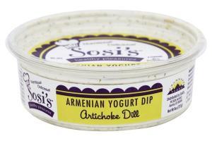 Armenian Yogurt Dip Artichoke Dill