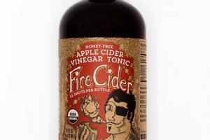 Honey Free Apple Cider Vinegar Tonic - Fire Cider