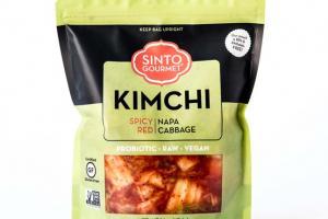 Spicy Red Napa Cabbage Kimchi