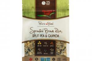 Sprouted Brown Rice, Split Pea & Quinoa