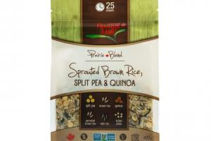 Sprouted Brown Rice, Split Pea & Quinoa