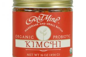 GOLD MINE ORGANIC FRESH RAW KIMCHI
